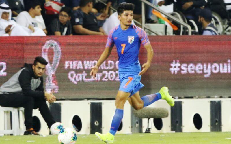 Anirudh Thapa Football