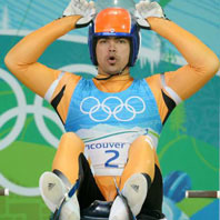 Shiva overcomes injuries to bag Asian Luge gold