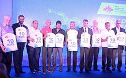 TCS World 10K Bengaluru 2016 Launch in ITC Windsor
