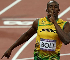 Usain Bolt isn