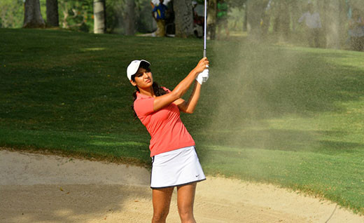 Golfer Neha Tripathi aims for second title in women's golf meet