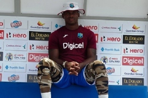 W. Indies' Samuels cleared to bowl in international cricket