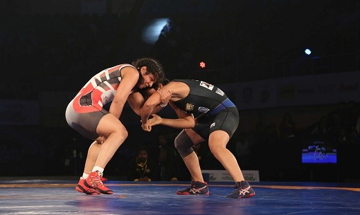 Wrestler Sakshi remains unbeaten in PWL-2