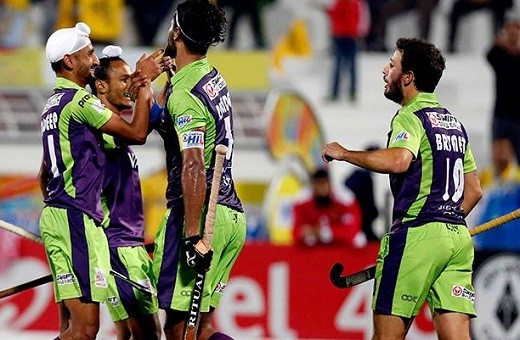 Hockey India League: Delhi hammer Punjab Warriors 6-1; jump to third spot