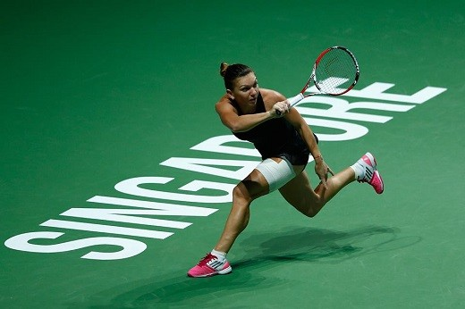 Simona Halep withdraws from St. Petersburg with knee injury
