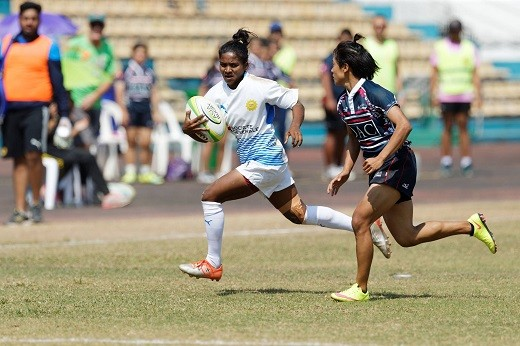 Indian women's rugby team win silver at Asian Women's Sevens Trophy
