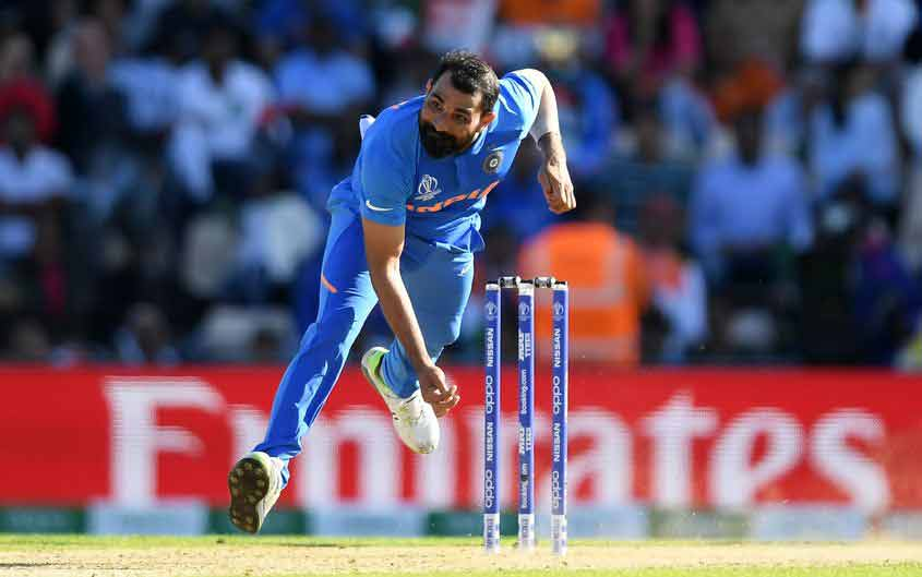 Mohammed Shami ICC WI