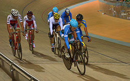 Track asia cup action