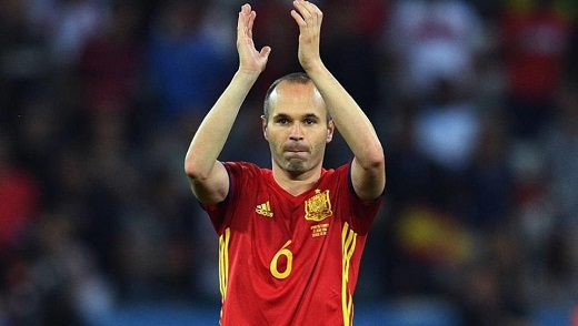 Andres Iniesta to miss match against Eibar