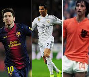 From Messi, Ronaldo to Johan Cruyff: Players who have won Ballon D'or more than once