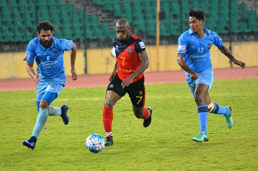 Chennai City FC hold Churchill Brothers to 1-1 draw in I-League tie