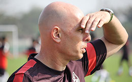 Stephen Constantine feels the self belief was exemplary as India won the LG Cup in 2002