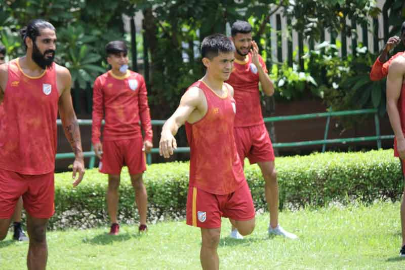 Sunil Chhetri Indian Football Team