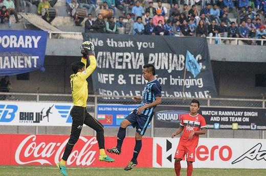 I-League: Minerva Punjab FC, DSK Shivajians FC play out goaless draw