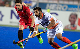 Cedric's goal helps Belgium beat India 1-0 in Hockey World League Final semi-final