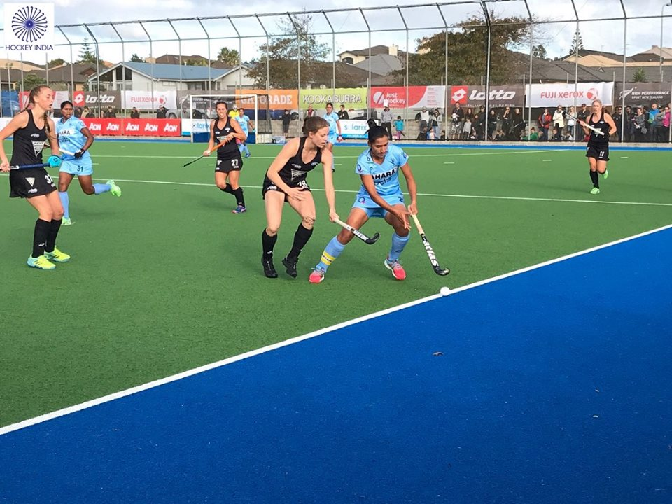 India vs New Zealand hockey