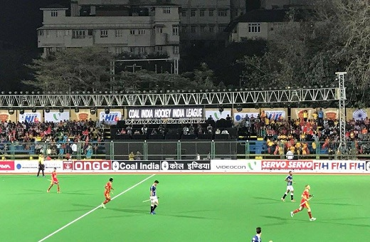 Thimmaiah Nikkin's late goal earns 3-3 draw for Mumbai in HIL opener