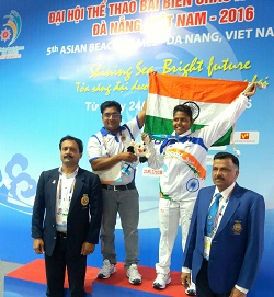 India win silver in Vovinam at Asian Beach Games
