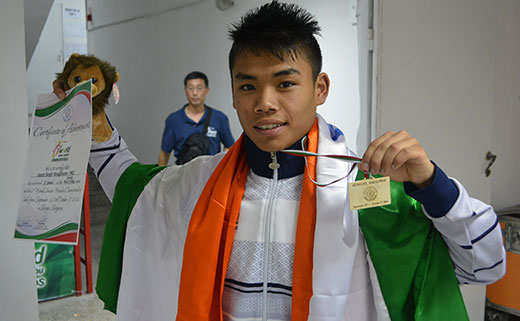 Y Jason Singh creates history, becomes first Indian to win gold in World Junior Wushu Championship