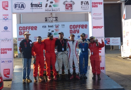 Karna Kadur wins Coffee Day India Rally, jumps to lead in Championship