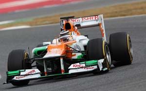 Sahara Force India join hands with Internap