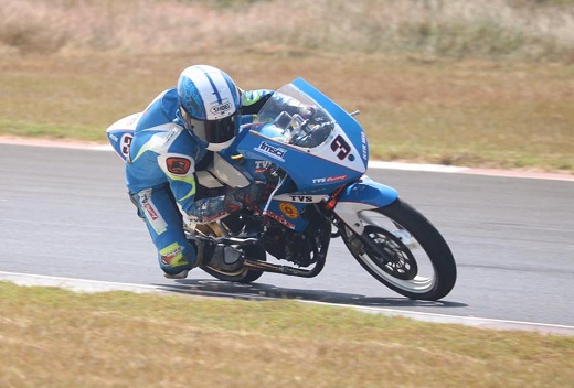 Jagan on course for National Motorcycle racing championship title