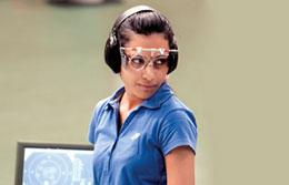 India's Heena Sidhu shines on her home turf, collects the Gold medal and the Olymic quota