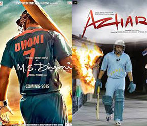 Movies on Dhoni, Azhar: When Bollywood got inspired by sports and sportstars