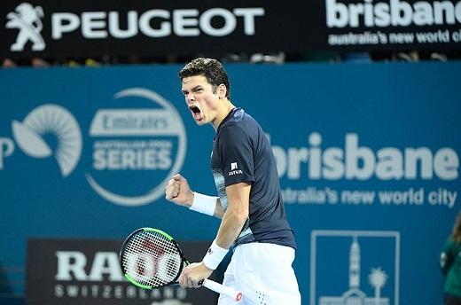 Milos Raonic beats Muller, advances to third round of Australian Open