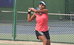 Sathwika Sama Fenesta Open Junior Tennis