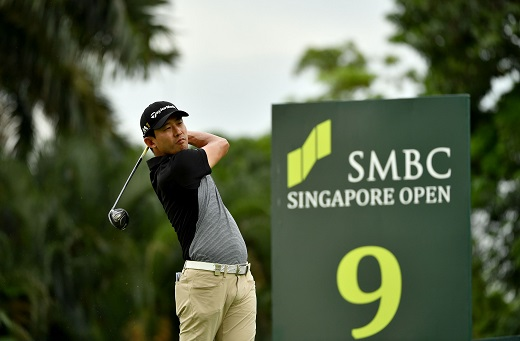SMBC Singapore Open: Han upstages stars to take clubhouse lead