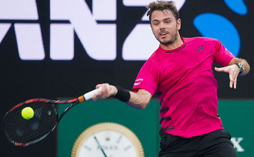 Stan Wawrinka of Switzerland 520