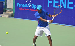 Vishnu Fenesta Open National tennis Championship