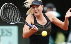 Sharapova thrash Kvitova to reach French Open final