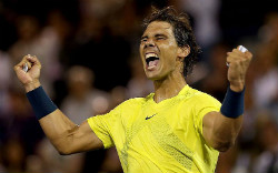 Nadal cruises into US Open 2nd round