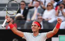 Nadal beats Federer to win Rome Masters