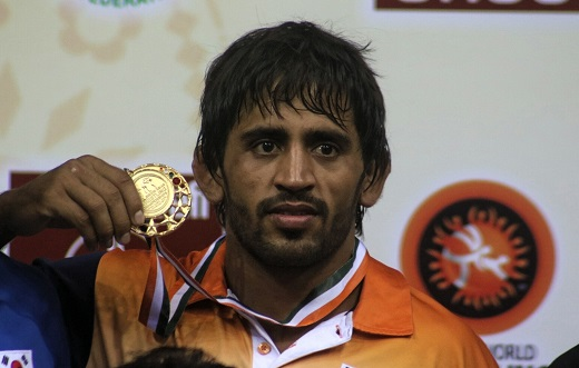 Bajrang Punia Asian Wresling
